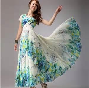 Plus Size Long Floral Dresses