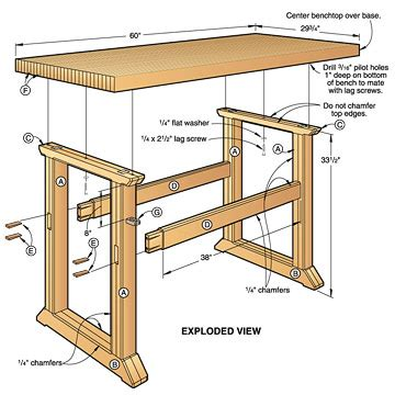 ways  learn   build  woodworking bench