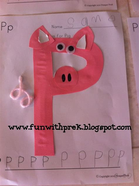 lil  smartypants p   pig pig crafts