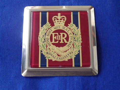 Royal Engineers Car Grille Badge