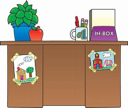 Desk Clipart Teacher Table Plan Iep Classroom