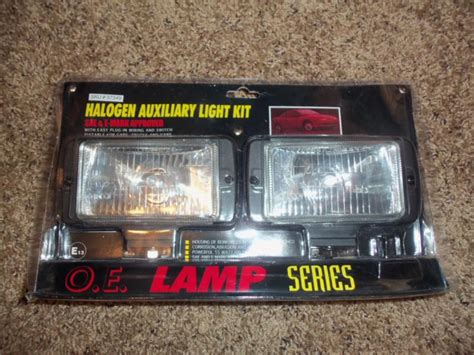 Purchase Standard Halogen Auxiliary Fog Light Kit Sae