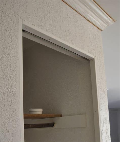 install trim  bi fold closet doors