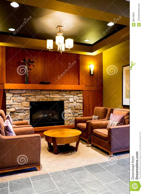 north american style living room living room stock photo