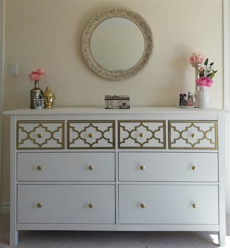 hemnes dresser hack ikea hack hemnes 8 drawer dresser took 2 days from scratch to assemble and all ready but it