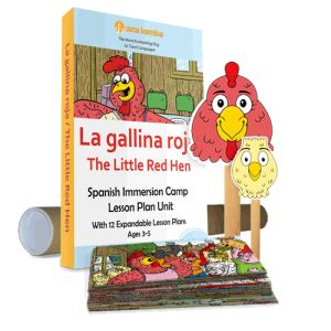 lesson plans for preschoolers 138 | mpressarias the little red hen set o 300x300