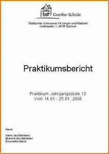 praktikumsbericht muster With praktikumsmappe vorlage
