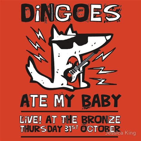 Dingoes Ate My Baby  Buffy The Vampire Slayer Band T