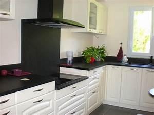 credence cuisine noir et blanc credence cuisine noir et With credence plan de travail cuisine