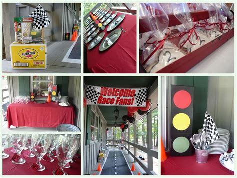 cars birthday party ideas  pinterest car party cars