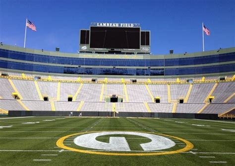 lambeau field  nation wi venue