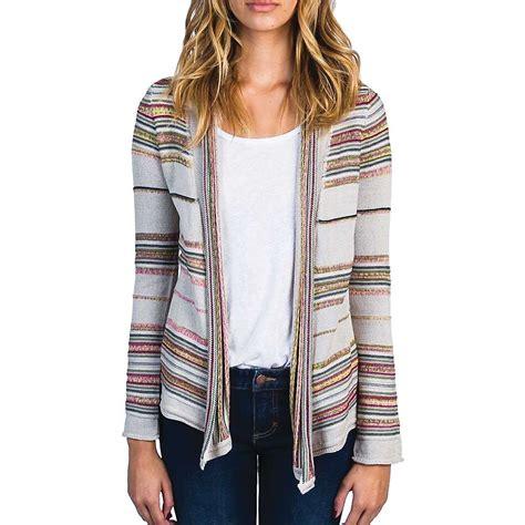 Billabong Backed Up Sweaters billabong s pent up stripe sweater moosejaw