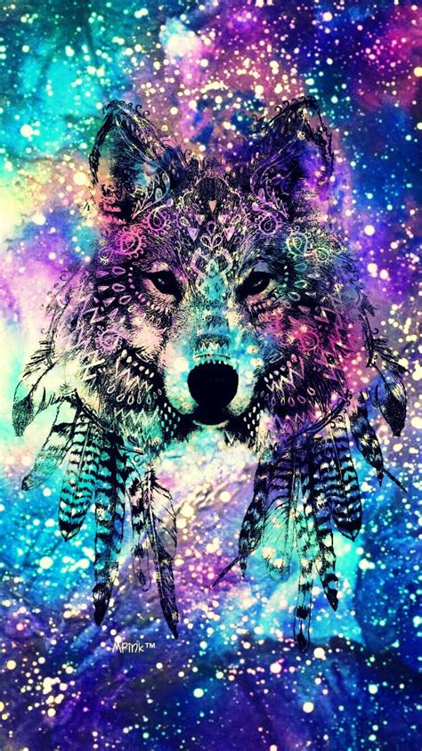 Galaxy Animal Wallpaper - galaxy wolf wallpapers wallpaper cave
