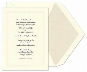 my formal wedding invitations weddingbee With most formal wedding invitations