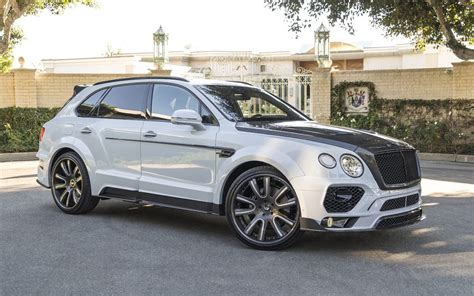 bentley mansory mansory does its thing on the bentley bentayga