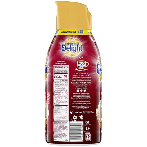 The term sweet cream refers to the use of satisfyingly full fat milk or. International Delight Cold Stone Creamery Sweet Cream Gourmet Coffee Creamer (48 fl oz) - Instacart