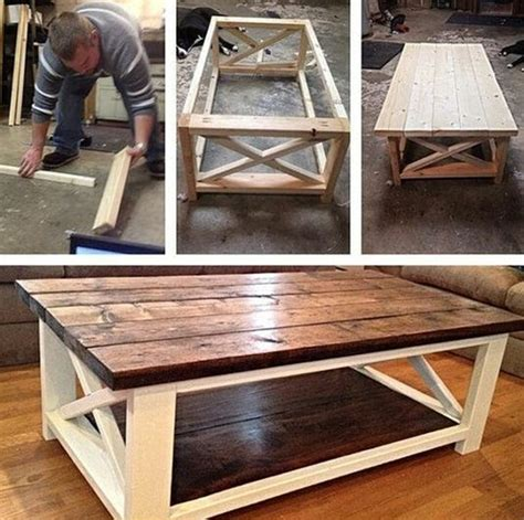 how to build a coffee table 40 diy coffee table ideas