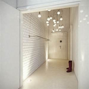 Deco Couloir Blanc : d coration int rieure appartement par studio o ~ Zukunftsfamilie.com Idées de Décoration