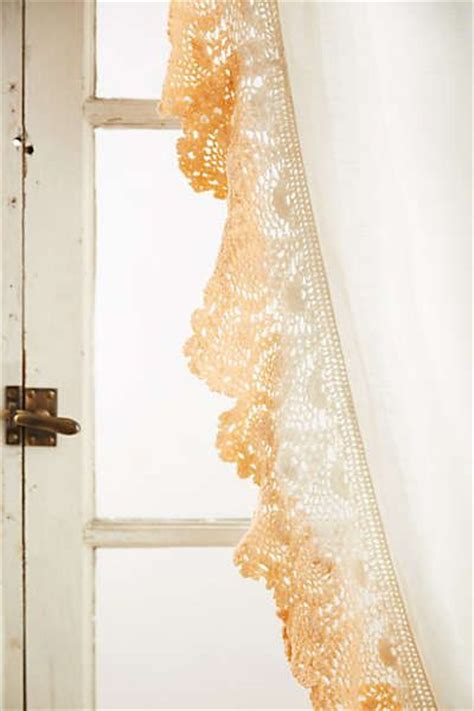 santina lace curtain lace ombre and anthropologie
