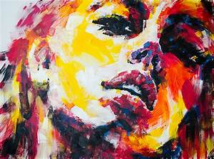 Using bright acrylics on canvas, Olga captures the beauty ...