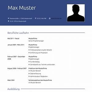 Lebenslauf Online Bewerbung : lebenslauf muster vorlagen f r die bewerbung 2018 ~ Orissabook.com Haus und Dekorationen