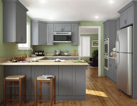 fully assembled kitchen cabinets society shaker steel gray pre assembled kitchen cabinets 3668