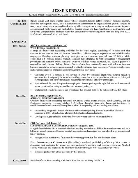 Financial Controller Resume Exles by Construction Controller Resume Exles Http Www Resumecareer Info Construction Controller