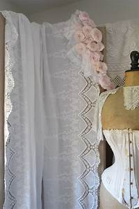 Rideau Dentelle Romantique : nouveaux tissus romantiques shabby le grenier d 39 alice ~ Teatrodelosmanantiales.com Idées de Décoration