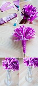 Comment Faire Des Roses En Papier : fabrication de fleur en papier cr pon ~ Melissatoandfro.com Idées de Décoration