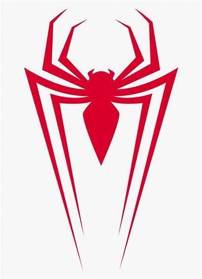 Spiderman Spider Symbol Morales Miles Transparent Clipart