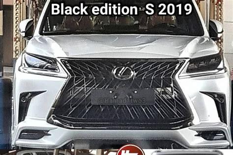 lexus lx black edition  leaks  official reveal
