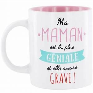 Mug Fete Des Meres : mug maman g niale id ale cadeau anniversaire f te des m res ~ Teatrodelosmanantiales.com Idées de Décoration