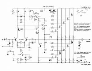 Component  600 Watt Mosfet Power Amplifier With Pcb Ave Circuits Amp Schematic For Thomas 820