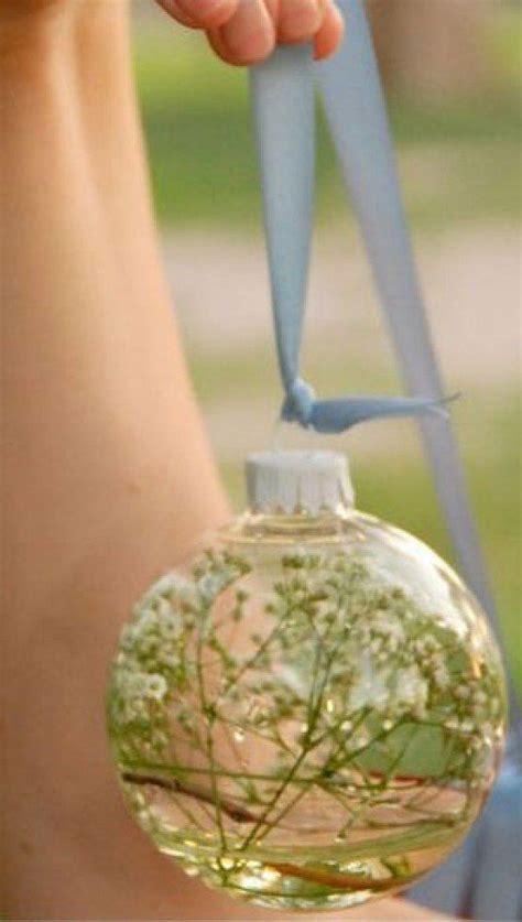 diy wedding table decoration ideas floral glass ball