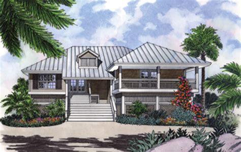 Stilt House Plan With Decks And Charm