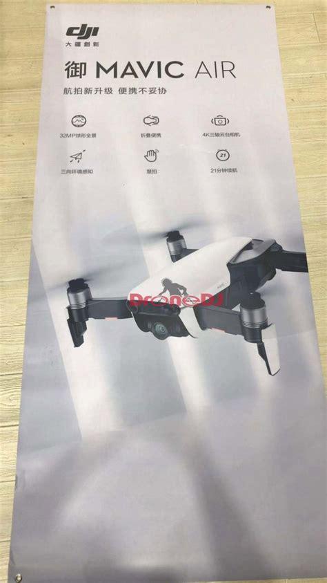 leaked dji mavic air images  specs camera times