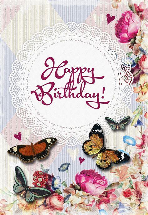 Happy Birthday Greeting Card Free Stock Photo - Public ...