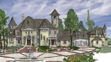 country mansion country house plans designs country