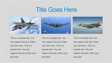 tiles military air force powerpoint  slidemodel