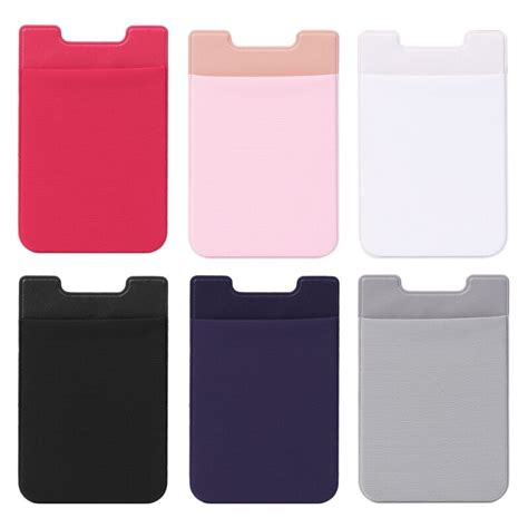 These 19 slim phone card holders are easy to use, provide ample card storage and will blend with any phone case design. THINKTHENDO New Hot Mobile Phone Back Cards Holder Wallet Credit ID Card Pocket Adhesive Sticker ...
