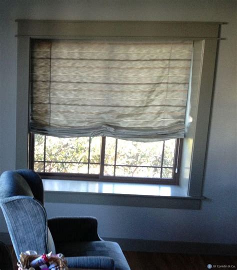 Double Roman Shades With Sheers  Window Treatments Design