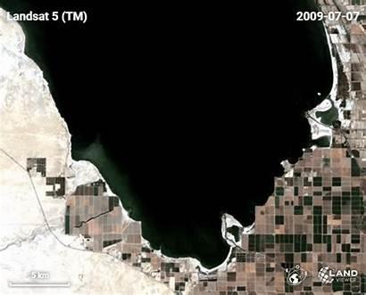 Satellite Salton Sea Imagery Data