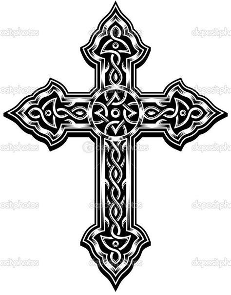gold cross tattoo images  pinterest cross