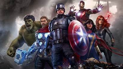 Avengers Marvel Iron Thor Ms Khan 4k