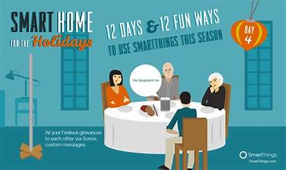 Smart Holidays Smartthings