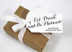 eat drink and be married wedding favor tags custom wedding With eat drink and be married wedding favors