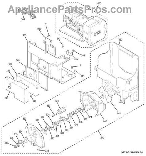 parts  ge cfsprkbcss ice maker dispenser parts appliancepartsproscom