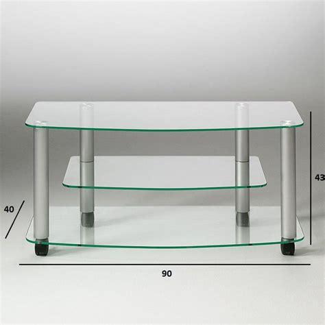 meuble tv en verre design meubles tv meubles et rangements meuble tv effel design