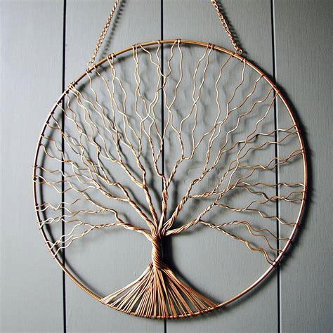 Copper Tree Wall Art By London Garden Trading