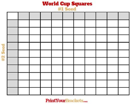 printable world cup  square grid office pool